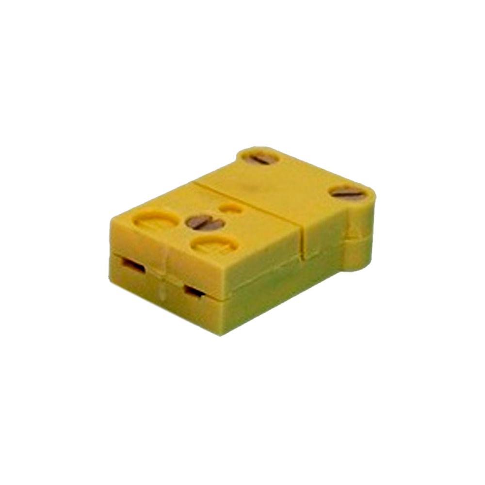 Conector Compensado em Termoplástico Tipo Fêmea Tamanho Mini até 200ºC para Tecno TEC - 35508
