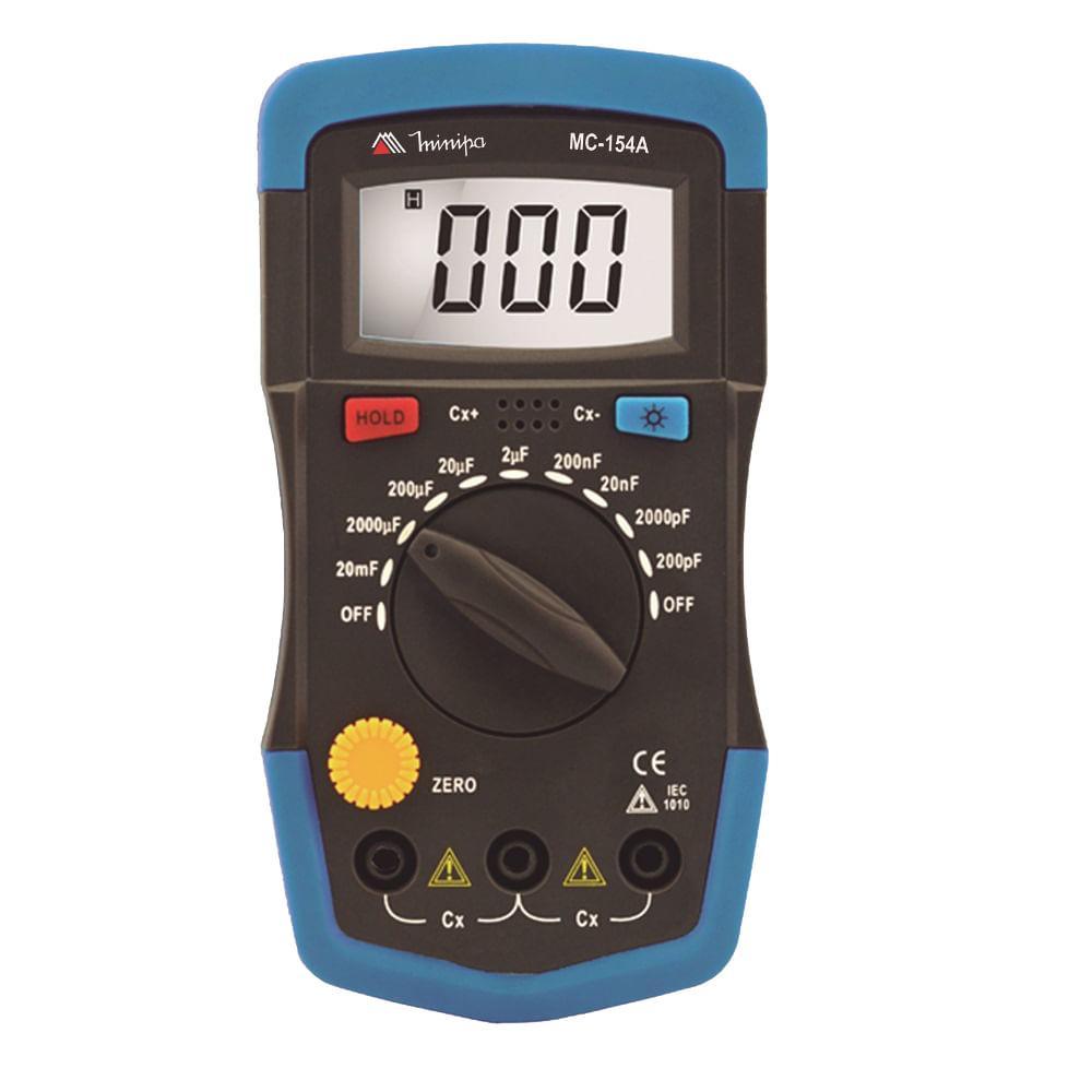 Capacímetro Minipa MC - 154A