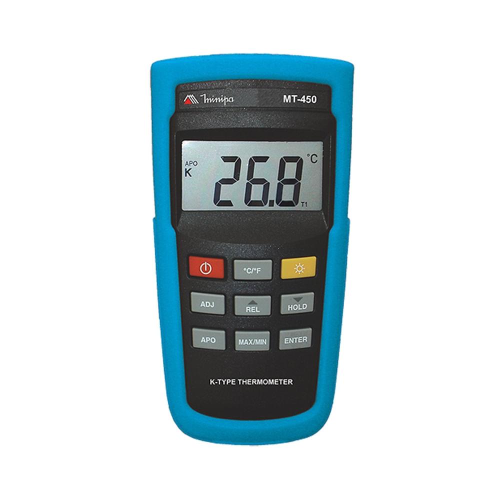 Termometro Digital 3 1 2 Dig 200 1352 C Tipo K Minipa Mt 450 Tecnoferramentas Mobile El termopar produce un milivoltaje proporcional a la. dig 200 1352 c tipo k minipa mt 450