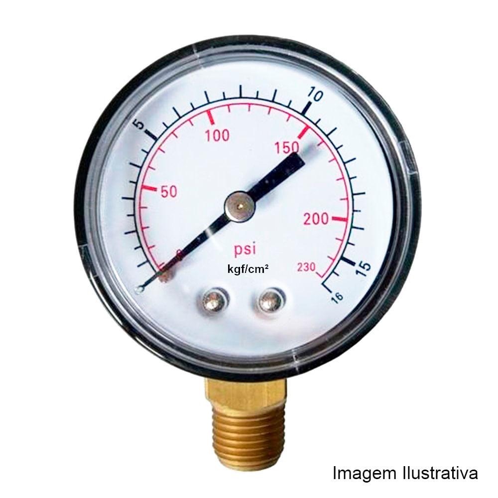 Compre Manômetro Tecno TECN-500 100R600 na Tecnoferramentas