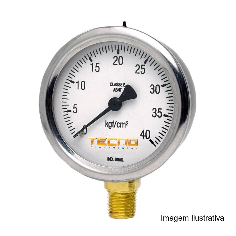 Compre Manômetro Tecno TECN-600 100R600 na Tecnoferramentas