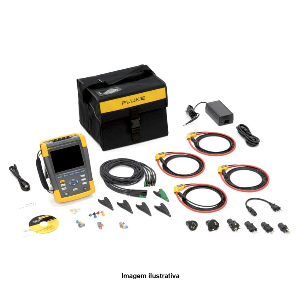 e7b86c07635 Analisador da Qualidade de Energia e de Motor Ref. 4779015 Fluke ...